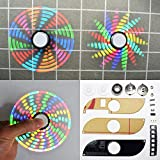 Generic Geekcreit DIY Full Color Rotating POV LED Hand Spinner Electronic Kit
