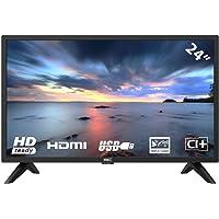 HKC 24F1D 60 cm (24 Zoll) HD LED Fernseher (HD,Triple Tuner (DVB-T2/S2/C),CI+,HDMI,USB)