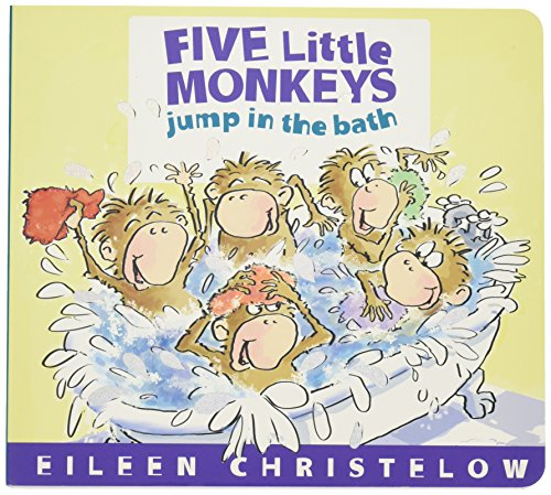 Five Little Monkeys Jump in the Bath por Eileen Christelow