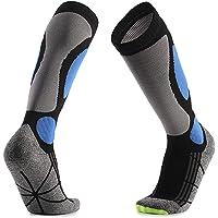 POHOVE Ski Long Socks Snowboard Socks For Skiing Snowboarding, Cold Weather, Winter Performance Socks Knee High Socks…