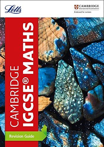 Cambridge IGCSE™ Maths Revision Guide (Letts Cambridge IGCSE™ Revision) (Letts Cambridge IGCSE (TM) Revision) por Letts Cambridge IGCSE