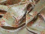 Chinesische Satin Blossom Brokat Kleid Stoff