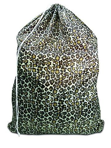 STYLISH COOL LEOPARD LAUNDRY BAG BATHROOM LAUNDRY (Leopard Elegante)