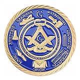 freimaurer gedenkmünze schönen vergoldeten medaille freimaurer sammlerstück selten besonderes geschenk geschenk