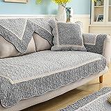 Anti-rutsch Sofa möbel protector für haustiere hund Ganze saison Baumwolle Sofa werfen slipcover Schnittsofa werfen abdeckung pad U L-form Couch abdeckung-1 stück-A 28x83inch(70x210cm)