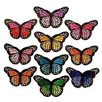 Nessuna preoccupazione circa il difetto o brutto buco sui vostri vestiti piu ' se avete queste patch carine! Si può attaccare loro sulla parte di difetto dei tuoi vestiti, o fissandoli mediante cucitura Set include 12 pz farfalla-fantasia pat...