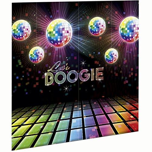 Let's Boogie Scene Setter Disco Fever, 2 pcs. 83 x1.82 m