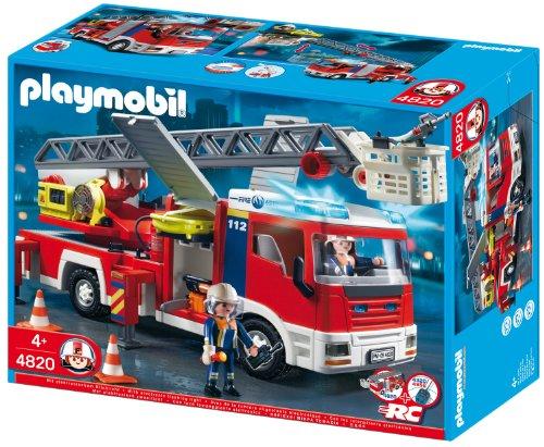 Preisvergleich Produktbild PLAYMOBIL 4820 - Feuerwehr-Leiterfahrzeug