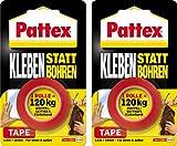 Pattex Kleben statt Bohren / Kombi-Spar-Set (2 x Klebeband)
