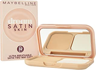 Maybelline New York Dream Satin Two-Way Cake SPF 32/PA+++, 01 Light, 9g