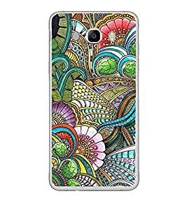 Fuson Designer Back Case Cover for Samsung Galaxy J7 (6) 2016 :: Samsung Galaxy J7 2016 Duos :: Samsung Galaxy J7 2016 J710F J710Fn J710M J710H (Art Drawing Painting Design India)