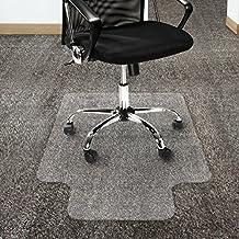 Etm Tapis En Polycarbonate Antidrapant Pour Chaise De Bureau Transparent 4 Tailles Plastique