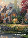 Official Thomas Kinkade Painter of Light with Scripture 2018 Diary