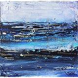Bild abstrakt modern Malerei Kunst Original Acryl Gemälde 20x20 cm