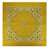 Alex Flittner Designs Bandana mit exclusivem Paisley Muster in gelb