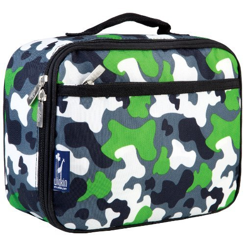 Isolierte Camo Lunch-box (Wildkin Green Camo Lunch Box by Wildkin)