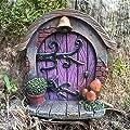 Miniatur Hobbit, Pixie, Elfe, Fairy Tür–Baum Garten Home Decor–Fun Schrulliges Geschenk Figur–7