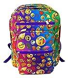 Top Trenz Emojicon Multi Color Backpack by Emojicon