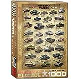Eurographics 6000-0388 - World War II Tanks - Puzzle 1000 Teile