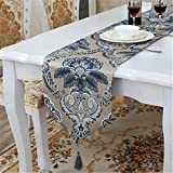 Tejido Damasco tabla pabellón palacio de lujo continental van artes manteles café cama final ,33*180cm toalla