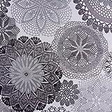 Möbelstoff Polsterstoff Dekostoff Doily Mandala Blumen