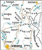 ADFC-Radtourenkarte 18 Oberfranken /Vogtland 1:150 - 000, reiß- und wetterfest, GPS-Tracks Download und Online-Begleitheft (ADFC-Radtourenkarte 1:150000) -