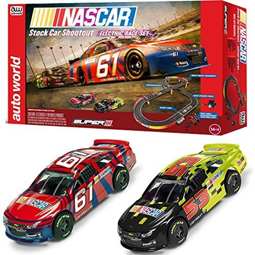 nascar-10-stock-car-shoot-out-slot-car-set-by-round-2