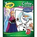 Crayola 04-5842 48páginas Juego de imágenes para colorear libro y página para colorear - libros y páginas para colorear (Chica, Disney Frozen, Juego de imágenes para colorear, Caja) por Crayola