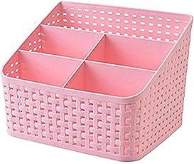 Jk Multi Segment Hollow Basket/Storage Box For Bedroom,Bathroom,Office Table, Storage Organizer