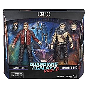 Marvel Legends Exclusive: Guardians of the Galaxy - Star Lord & Ego (2 Pack) 15cm Action Figure