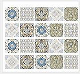 JRTILES Stickers Adhésifs Carrelages 15X15 Cm X 20 Pièces Sticker Autocollant...