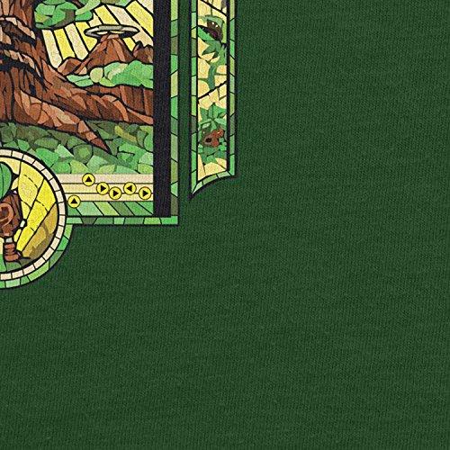 Planet Nerd - The Boy without a Fairy - Herren T-Shirt Flaschengrün
