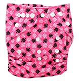 Baby Bucket All-In-One Bottom-bumpers Cloth Diaper With 1 Cloth Diaper pad (pink dot)