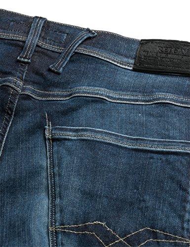 Replay Herren Slim Jeans Anbass Blau (Blue Denim 9)
