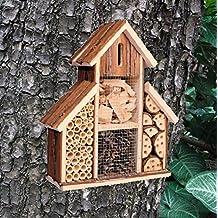 Patrimonio Fix Sobre insectos hotel de madera nido casa Bee Keeping Bug caja de mariquita jardín 2630