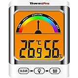 ThermoPro TP52 inomhus hygrometer termometer digital rum termometer temperaturmätare fuktighetsmätare termometer för terarier