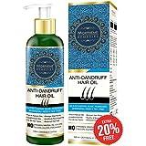 [Sponsored]Morpheme Remedies Anti Dandruff Hair Oil (With Olive, Bhringraj, Castor, Neem, Tea Tree Oils) - 120ml
