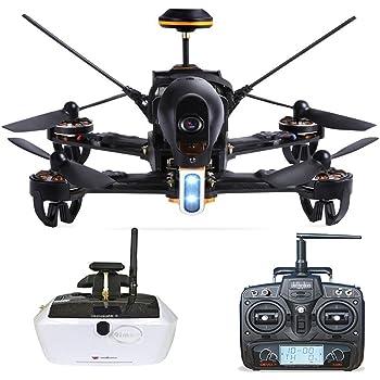 Walkera F210Professional Deluxe Racer Quadcopter Drone W/5.8G goggle4FPV Glasses/Devo 7Transmitter/700TVL Night Vision Camera/OSD/Ready To Fly Set RTF Mode 2