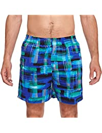 Zoggs Men's Checkmate 16-Inch Shorts