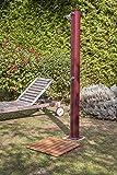Gre SSB40 - Base per doccia solare 60x60 - listelli imitazione legno