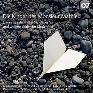 Die Kinder des Monsieur Mathieu. Mélodies du film Les choristes. Knecht.