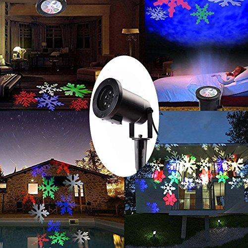 Natale Lampada di Proiezione Proiettore LED Illuminazione