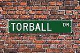 Metall Stree Torball Schild Torball Fan Player Torball Geschenk Spiel für Blinde Oder Sehbehinderte Aluminium Wand Poster Yard Zaun Schild