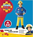 Feuerwehrmann Sam–Feuerwehrmann Sam Kostüm Classic Talla S (3-4 años) Schwarz für Feuerwehrmann Sam–Feuerwehrmann Sam Kostüm Classic Talla S (3-4 años) Schwarz