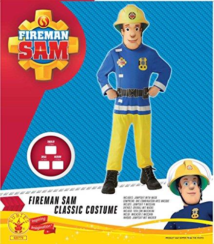Imagen de sam el bombero  disfraz sam el bombero classic alternativa