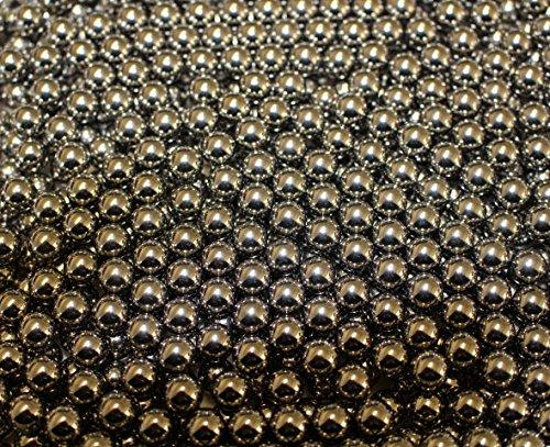 500 Stück G8DS® Marken-Schleudermunition Kaliber 8 mm Stahlkugeln Schleuder Munition für Katapult