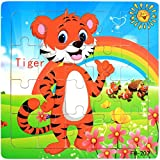 hunpta Holzpuzzle Educational Entwicklungs-Baby Kinder Training Spielzeug, C, 1