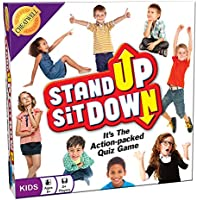 Cheatwell Games Stand-Up Sit Down Kids Trivia Quiz