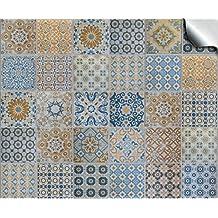 24 Stück Fliesenaufkleber Für Küche Und Bad (Tile Style Decals 24x TP 60   6