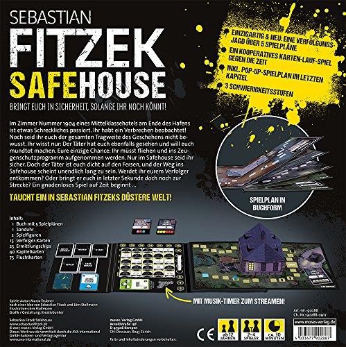 moses. Sebastian Fitzek SafeHouse - Das Spiel | Safe House Gesellschaftsspiel von Marco Teubner - 4